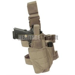 Holster Tornado de cuisse adaptable tan