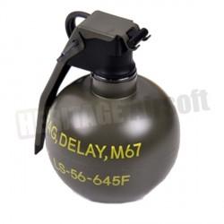 Grenade M67 réserve de gaz