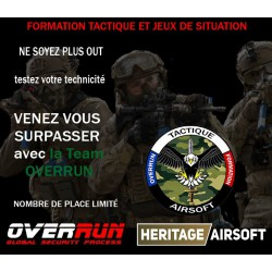 Formation Tactique OPS OVERRUN Dimanche 3 Mars