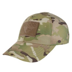 Baseball Multicam Cap with frontal scratch