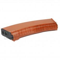 [HiCap] Chargeur Flash Mag AK 74 plastique orange