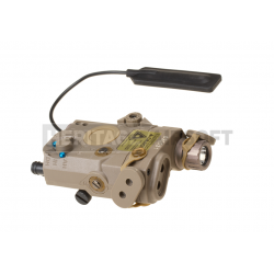 Boitier AN/PEQ-15 fonctionnel - Laser & lampe - Dark Earth - Element