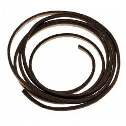 Lacet en cuir marron 80-100 cm - MFH