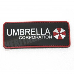 Ecusson PVC avec scratch Umbrella Corp.