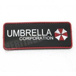 Ecusson PVC avec scratch Umbrella Corp.