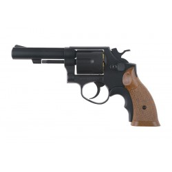 HG131B-1 Revolver Replica - Black/Wood - HFC