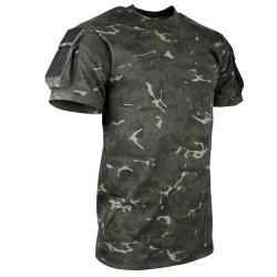Tactical T-shirt - Multicam Black [BTP] - Kombat UK
