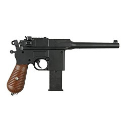 Airsoft Mauser M712 C96 Full Metal à Ressort Spring Rechargement Manuel (0.4 joule) Golden Eagle