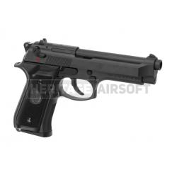 Pistolet Airsoft Gaz CO2 M92 FS M9 Full Métal - KJW