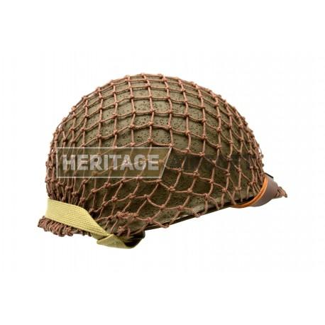 Complete US para helmet, WW2 replica