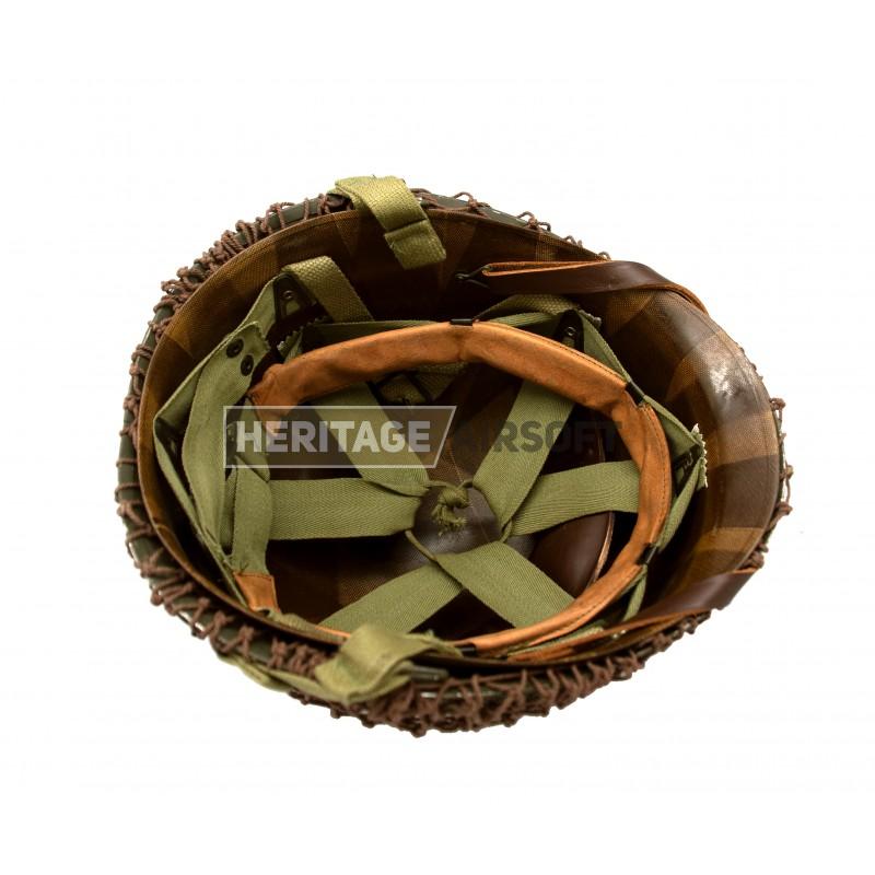 Complete US para helmet, WW2 replica - Heritage Airsoft