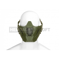 Masque pour casque FAST avec rails grillagé foliage - JAY DESIGN