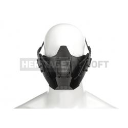Masque pour casque FAST avec rails grillagé noir