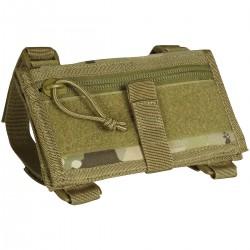 Porte carte tactique de poignet multicamo - Viper