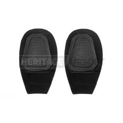 Genouillère noir knee pad tactique - Invader Gear