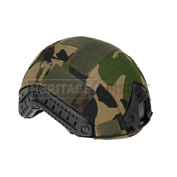 Couvre casque d'airsoft - FAST - WOODLAND - Invader Gear