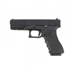 G18 Glock Noir GBB métal CO2 KP-18 KJ Works