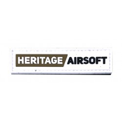 Ecusson Patch Heritage-airsoft name tag