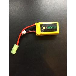 Batterie PEQ LiPo 7,4V 1000 mAh 15C