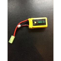 Batterie micro long LiPo 2S 7,4V 850mAh 30C