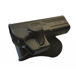 Holster rigide pour pistolet Glock 17 Airsoft type Roto - Swiss Arms