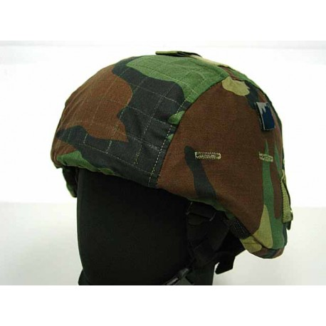Couvre casque MICH 2000 Woodland type II