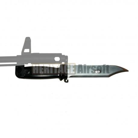 Baïonnette Airsoft d´AK-47 caoutchouc