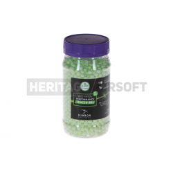 Billes traçantes phosphorescente 0,20 g bouteille 2000 BBs AEG aisroft 6mm