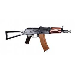 AKS-74U métal et bois - CUSTOM - corps vielli - Mosfet Titan - Gearbox Retro Arms2
