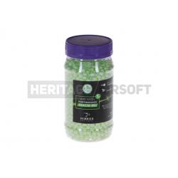 Billes traçantes phosphorescente 0,25 g bouteille 2000 BBs AEG aisroft 6mm