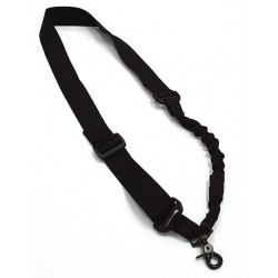 Bungee sling one point Black