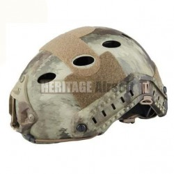 Casque Airsoft : type FAST camo ATACS aride FAST Carbon