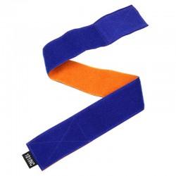 Brassard d'équipe - bleu réversible orange - 101 INC