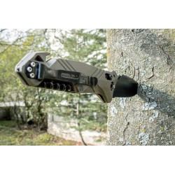 Couteau de poche Cac® serration PA6 vert od TB Outdoor