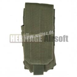 Porte chargeur M4 M16 MOLLE simple - Olive - Mil-Tec