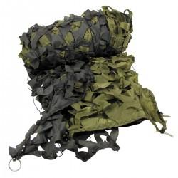 Filet camouflage armée Forêt 6m²