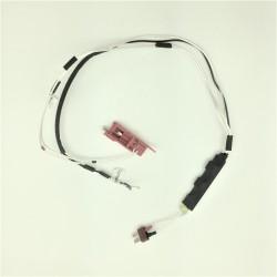 Cablage argent complet avec MOSFET et contacteur pour V2 AK - prise dean