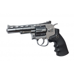 "ASG - Révolver DAN WESSON 4"" NBB Co2 - 1,8 joule - CHROME"