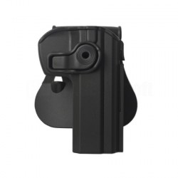 Holster rigide système Roto noir CZ75 - IMI Defense