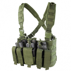 Chest Rig RECON with pockets olive
