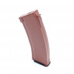 [HI-CAP] Chargeur AK plastique hi cap 500 billes orange foncé