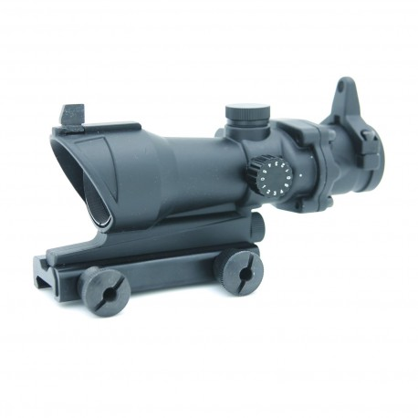 ACOG type, red and green dot with mount