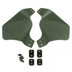 Caches latéraux (Side Cover) pour casque FAST - Olive