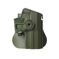 Holster rigide Roto - H&K USP COMPACT - Support ceinturon - Olive