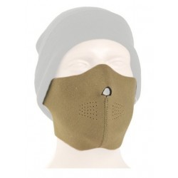 Neoprene Half Face Mask Tan