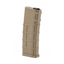 [REAL-CAP] Chargeur M4 M16 style PTS 30 billes - Tan