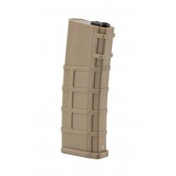 [MID-CAP] Chargeur M4 M16 style PTS 200 billes - Tan