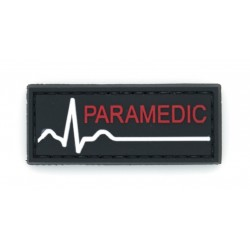 Ecusson PVC avec scratch - Paramedic