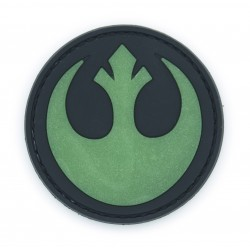 Ecusson PVC avec scratch - Star Wars - Rebel