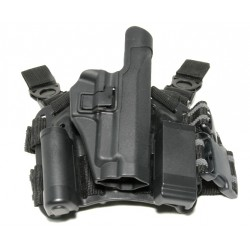 Holster kit for SIG P220 P226 P229, rigid holster kit CQC with black platform